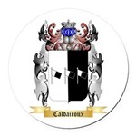 Caldairoux Round Car Magnet