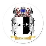 Caldairou Round Car Magnet