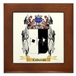Caldairou Framed Tile