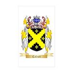 Calcutt Sticker (Rectangle 50 pk)