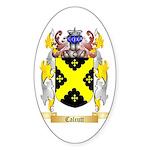 Calcutt Sticker (Oval 50 pk)