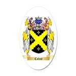 Calcut Oval Car Magnet