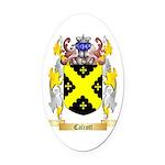 Calcott Oval Car Magnet