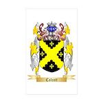 Calcott Sticker (Rectangle 50 pk)