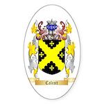 Calcott Sticker (Oval 50 pk)
