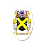 Calcott 20x12 Oval Wall Decal