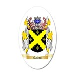 Calcott 35x21 Oval Wall Decal
