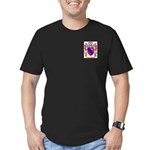 Calcagno Men's Fitted T-Shirt (dark)