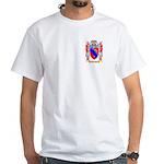 Calcagno White T-Shirt