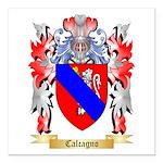 Calcagno Square Car Magnet 3