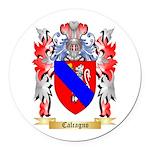 Calcagno Round Car Magnet