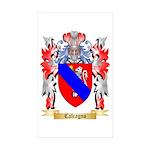 Calcagno Sticker (Rectangle 10 pk)
