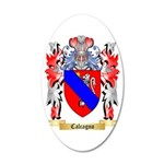 Calcagno 35x21 Oval Wall Decal