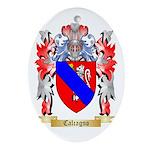 Calcagno Ornament (Oval)
