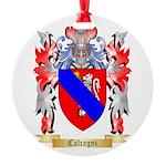 Calcagni Round Ornament