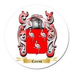 Cairns Round Car Magnet