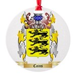 Cains Round Ornament