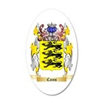 Cains 35x21 Oval Wall Decal