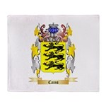 Cains Throw Blanket