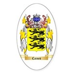 Caines Sticker (Oval 10 pk)