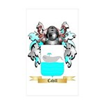 Cahill Sticker (Rectangle 10 pk)