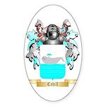 Cahill Sticker (Oval)