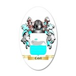 Cahill 20x12 Oval Wall Decal