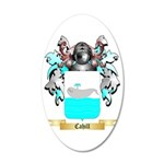 Cahill 35x21 Oval Wall Decal