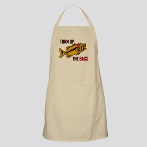 Funny Turn up the Bass design Apron