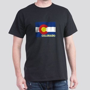Colorado Flag Dark T-Shirt