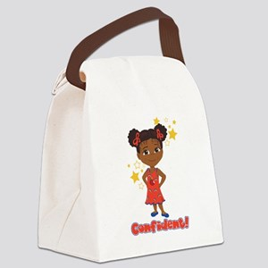Be Confident! Danza Canvas Lunch Bag