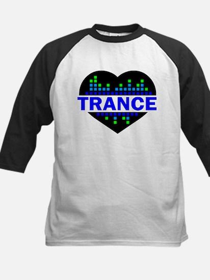 Trance Heart tempo design Baseball Jersey