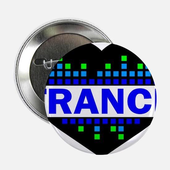 """Trance Heart tempo design 2.25"""" Button"""