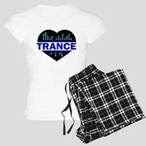 Trance Heart tempo design Pajamas