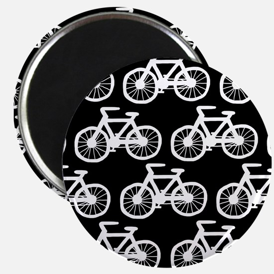 """'Bicycles' 2.25"""" Magnet (10 pack)"""