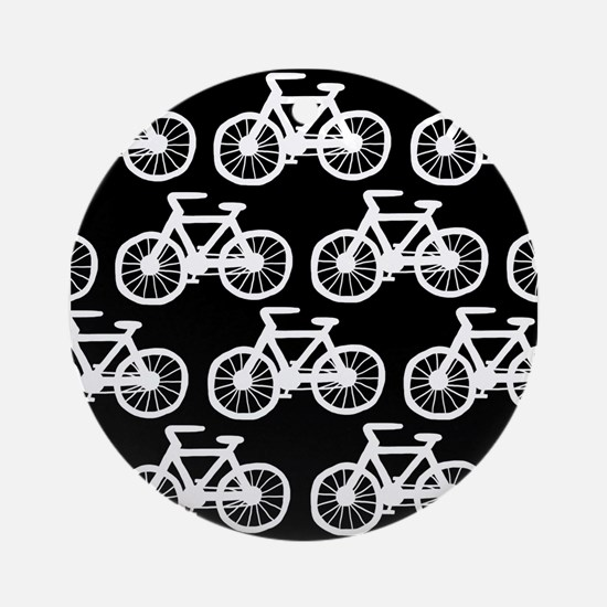 'Bicycles' Ornament (Round)