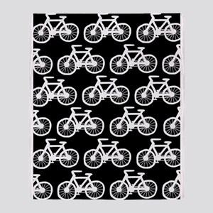 'Bicycles' Throw Blanket