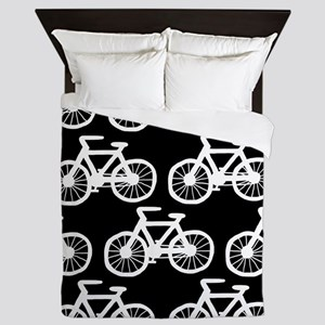 'Bicycles' Queen Duvet
