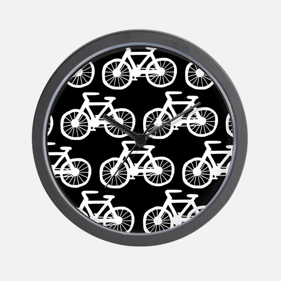 'Bicycles' Wall Clock