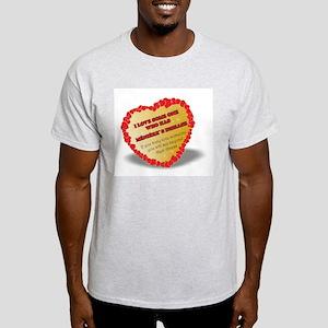 shayne town`s designs. Menieres Heart Light T-Shir