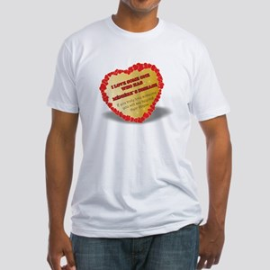 shayne town`s designs. Menieres Heart Fitted T-Shi