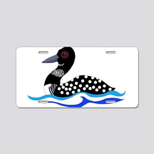 Loony Loon Aluminum License Plate
