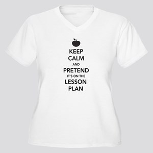 Keep Calm and Pretend Its on the Lesson Plan Plus