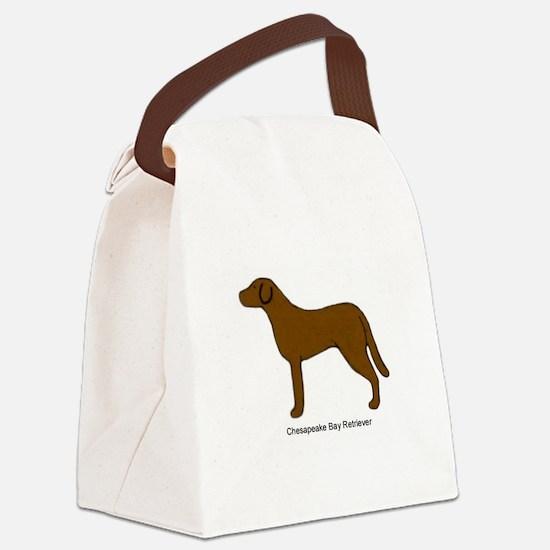 Chessie Canvas Lunch Bag