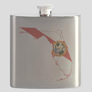 Florida Flag Flask