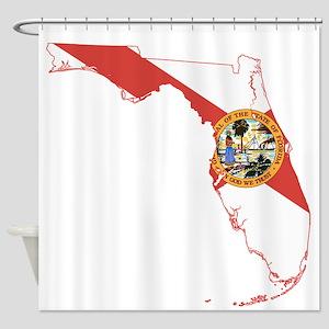 Florida Flag Shower Curtain