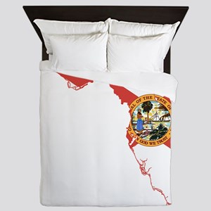 Florida Flag Queen Duvet