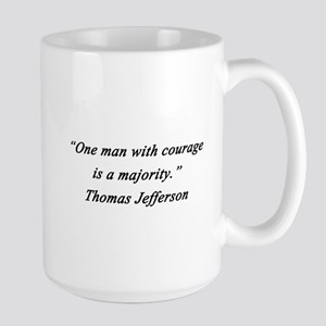 Jefferson - Man With Courage Mugs