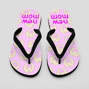 New Mom To Girl Flip Flops