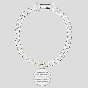 Jefferson - Second Amendment Bracelet